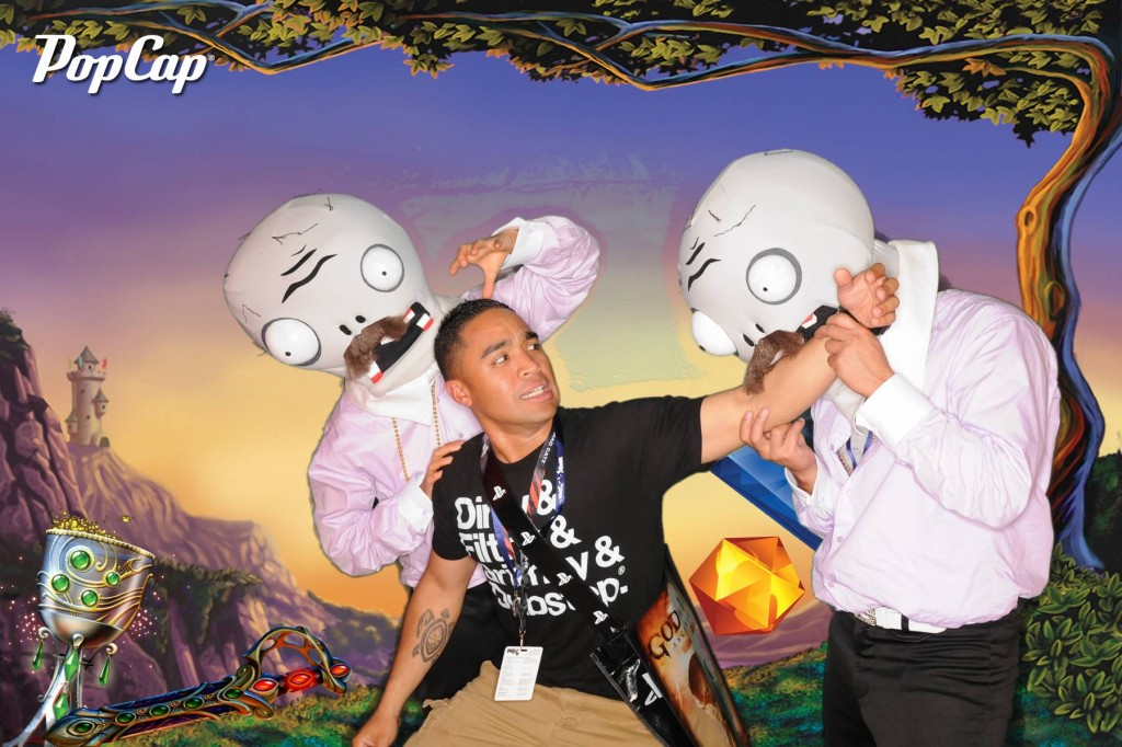 Zombie Green Screen Photo Booth