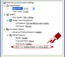 DNP Printer Help