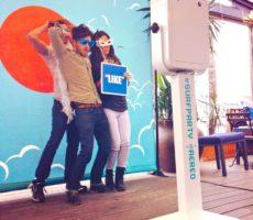Aereo Backdrop for SXSW GIF Photo Booth