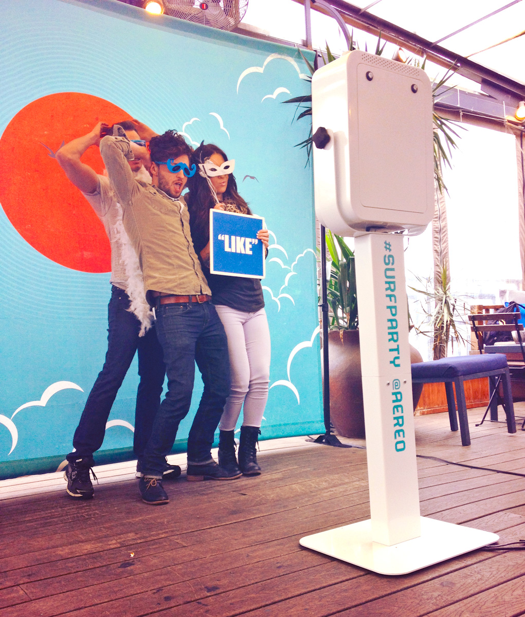 Aereo Backdrop for SXSW GIF Photo Booth
