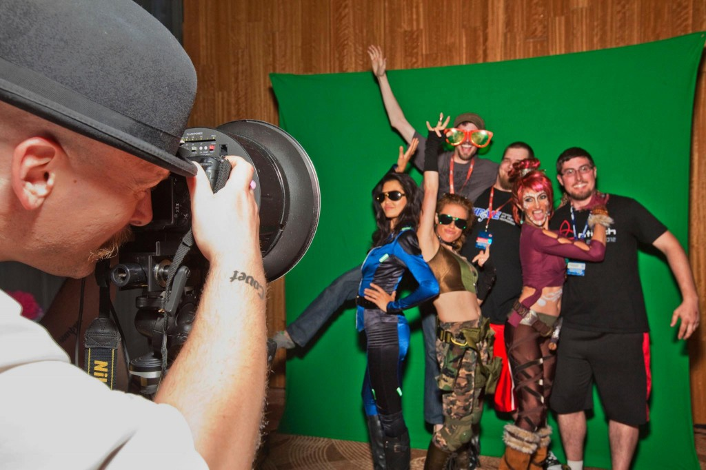 On Site Green Screen Photo Booth