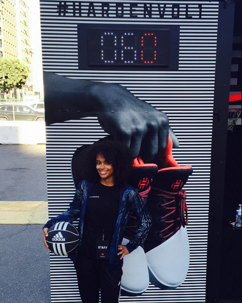 adidas Los angeles gif booth