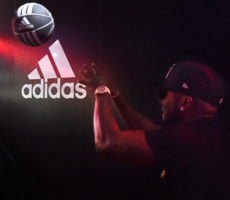 adidas nyc video booth