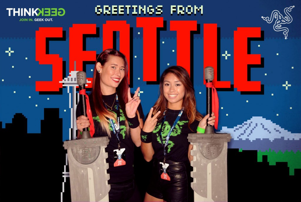Seattle Photo Booth Backdrop