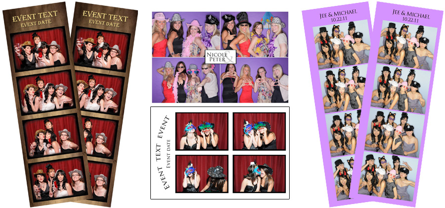 Photo Booth Picture Strips