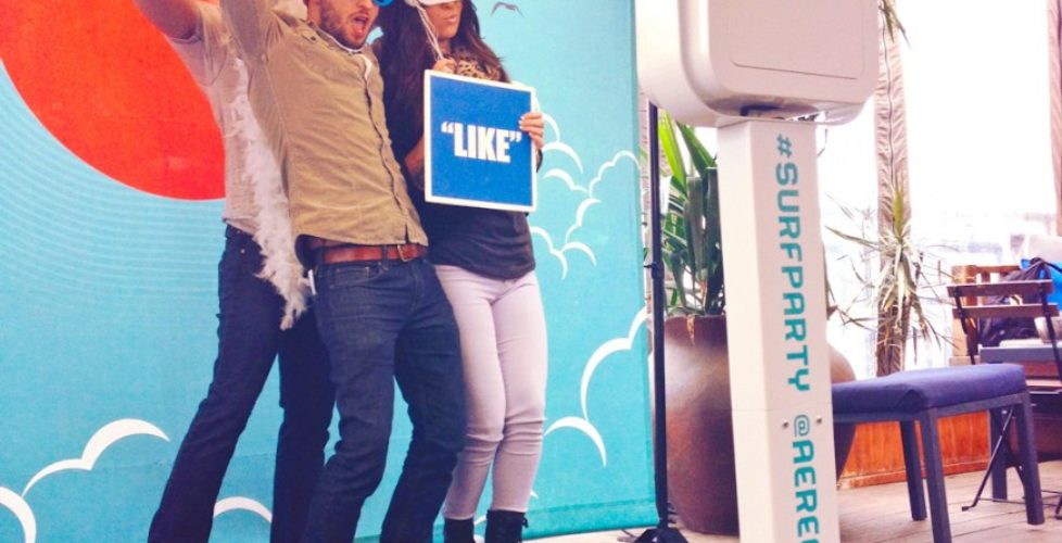 Photo Booth Backdrop Stand