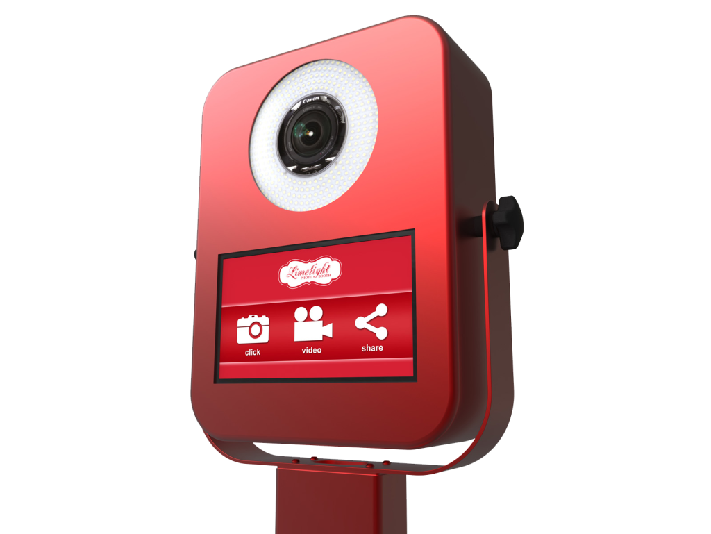 Iclick Photo Booth Kiosk Red